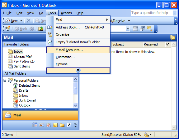 Step 1: Setting Up Email in Microsoft Outlook